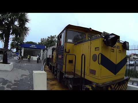 Phnom Penh Airport to Central Train Station by NEW TRAIN SERVICE - FREE till October 31st 2018