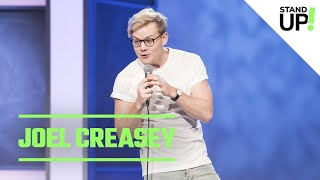 Comedian Joel Creasey Gets Over Breakup By Going To Zumba