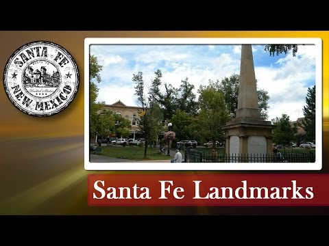 Santa Fe Plaza - Santa Fe, New Mexico