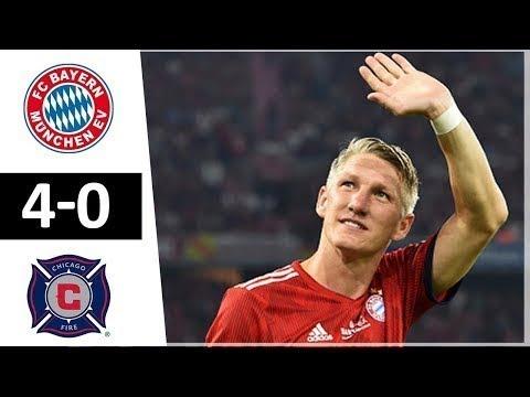 Download Bayern Munich vs Chicago Fire 4 0 All Goals & Highlights 28 08 2018 HD