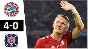 Bayern Munich vs Chicago Fire 4 0 All Goals & Highlights 28 08 2018 HD