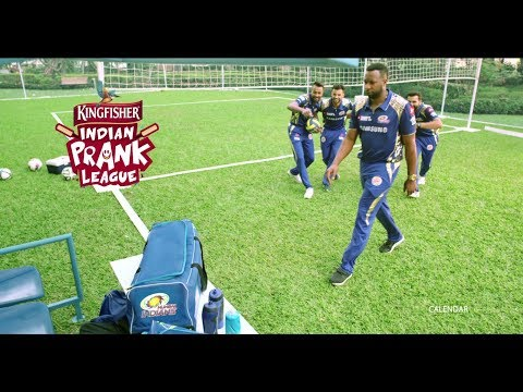 The Mumbai Indians join the Kingfisher Indian Prank League | Jack in the Box Prank