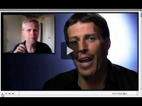 English Lesson: Tony Robbins, Frank, and John Part 1