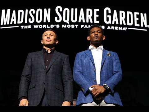 Live Stream: Golovkin vs. Jacobs Final Press Conference – Mon., March 13 at 12pm ET/9am PT