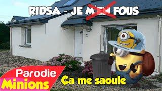 Parodie Minions Ça me saoule de Ridsa Je m