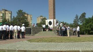 День Пограничника-28 мая 2014-возложение цветов венков памятнику Чекистам-КАНАЛ