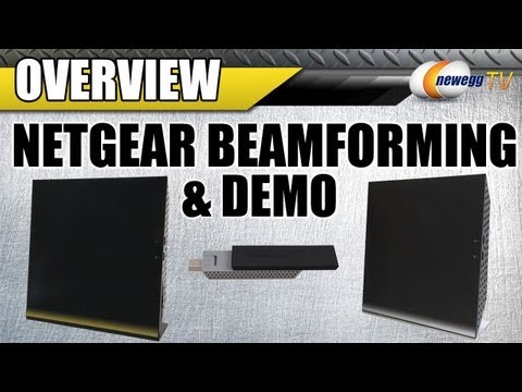 Newegg TV: Netgear Beamforming & Demo