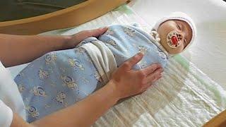 Как пеленать ребенка новорожденного видео(Видео о том, как пеленать ребенка новорожденного видео. Каждый человек знает, что такое пелёнка и что она..., 2014-10-09T07:32:33.000Z)
