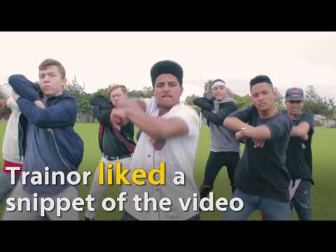 Meghan Trainor responds to viral SA dance video Mp3