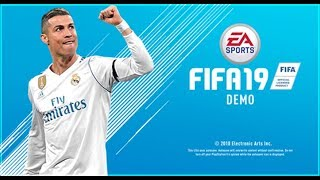 FIFA 19 DEMO Online HighLights [Share Play]🎮PS4  by 🆂🅲🆁3🅰🅼