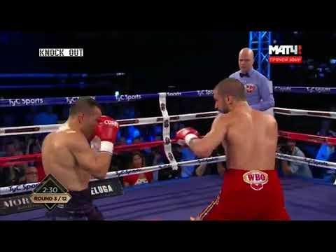 Omar Andres Narvaez vs. Nikolay Potapov The fight for the WBO world title at bantamweight 2017-10-14