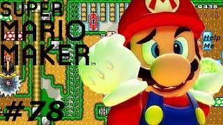 Super Mario Maker Part 78- Hilarious/Bad/Garbage Troll Level