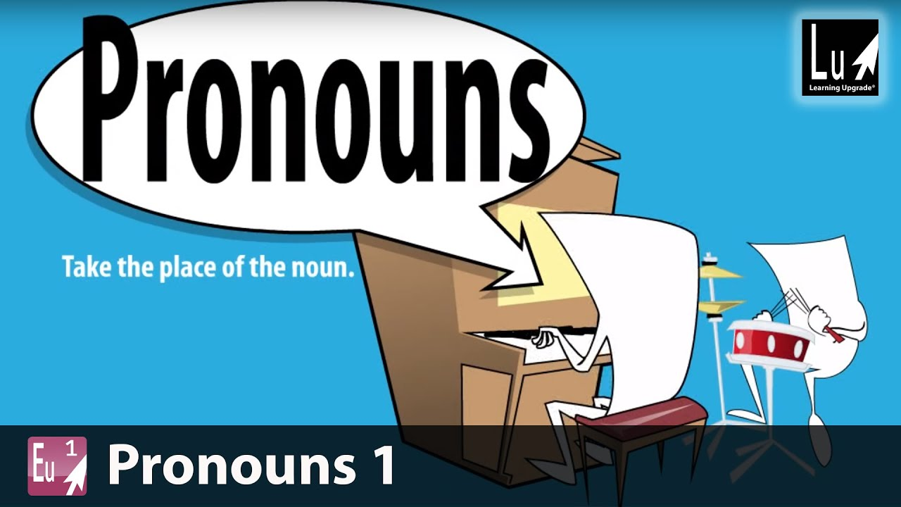 hight resolution of Pronouns 1 Song – Learn Grammar – Learning Upgrade App - YouTube