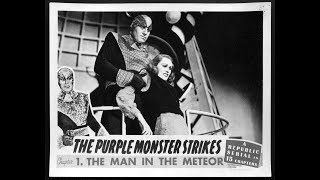 The Purple Monster Strikes Serial
