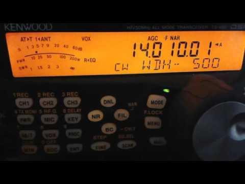 3C7A - EQUATORIAL GUINEA - 14 MHz CW