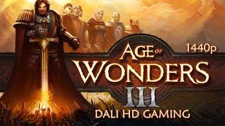 Age of Wonders III PC Gameplay FullHD 1440p