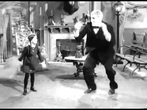 Wednesday & Lurch dance to the Birdie Song