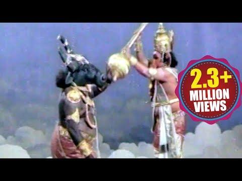 War Between Mushikasura & Sri Vinayaka - Satyanarayana Kaikala, Krishnam Raju, Vanisri
