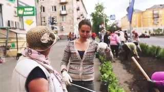 Посадка цветов(16 июня в нашем городе прошла акция «Цветы -- любимому городу», инициированная Администрацией города. В рамка..., 2014-06-23T09:41:35.000Z)