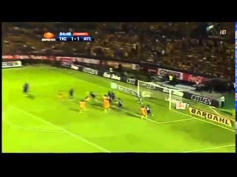 Goles de Hugo Ayala en Tigres