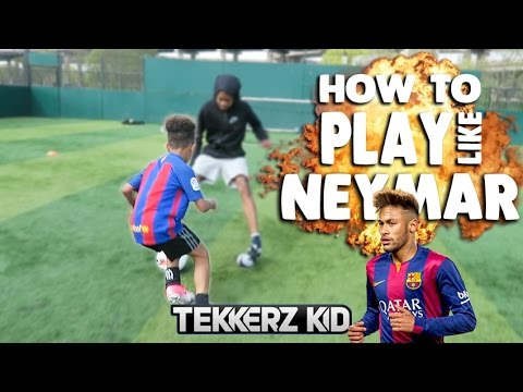 How To Play Like NEYMAR!! | Tekkerz Kid Football Drills