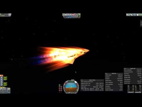 KSP Nighthawk ascent attempt (failure)  