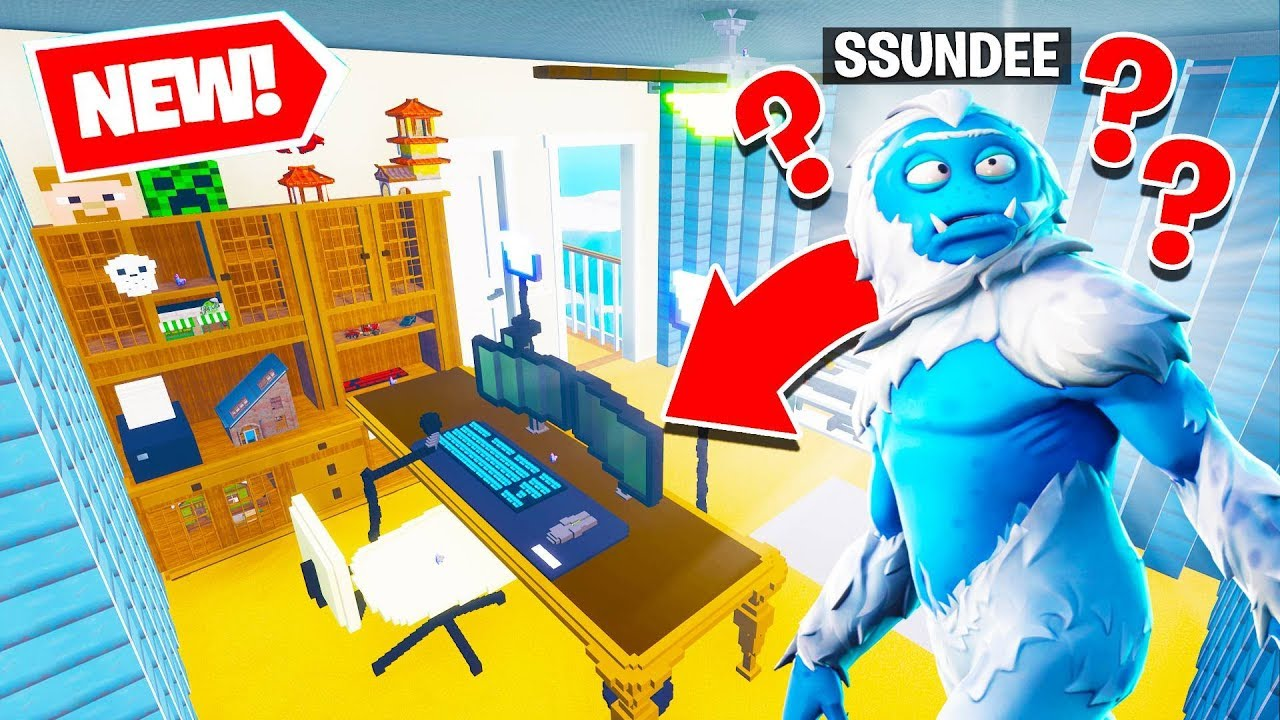So I decided to DESTROY SSundee's OFFICE in Fortnite Creative w/SSundee &  friends