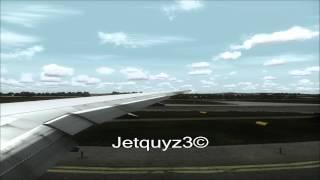 Austrian Boeing 777 Takeoff From Vienna Fs2004 (HD)