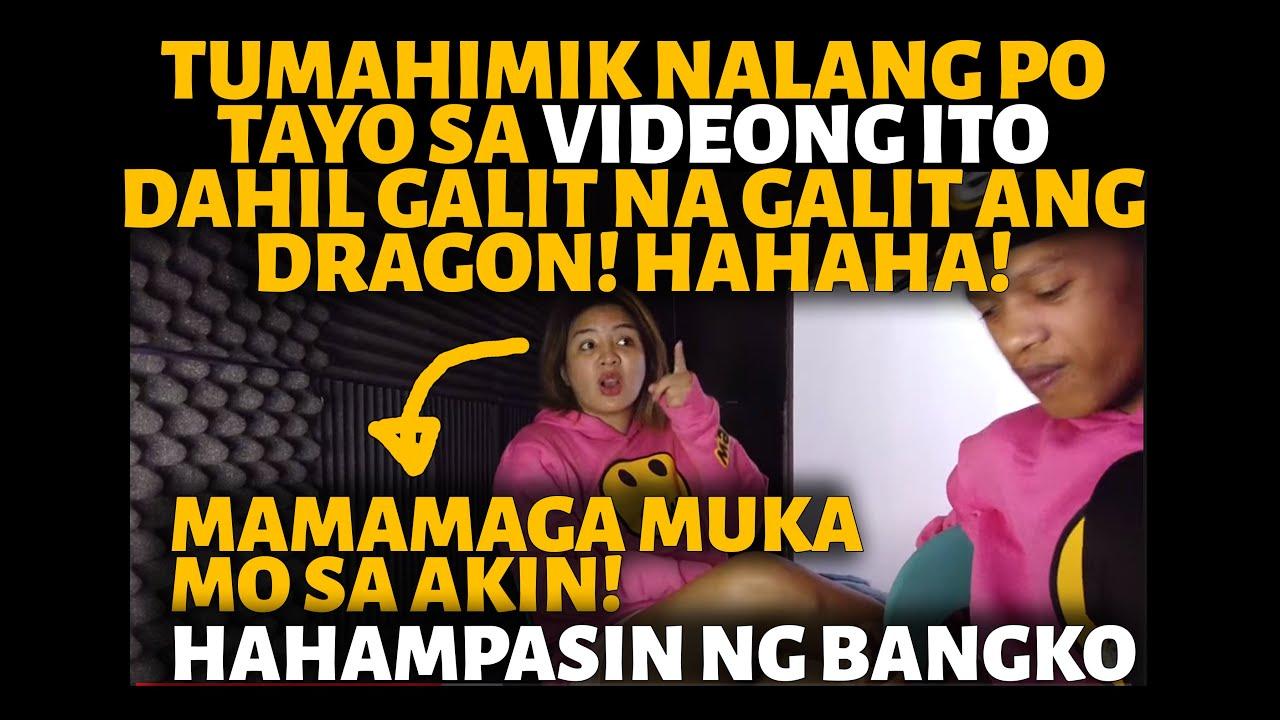 TUMAHIMIK NALANG PO TAYO SA VIDEONG ITO KASI GALIT NA GALIT ANG DRAGON! HAHAHAH!