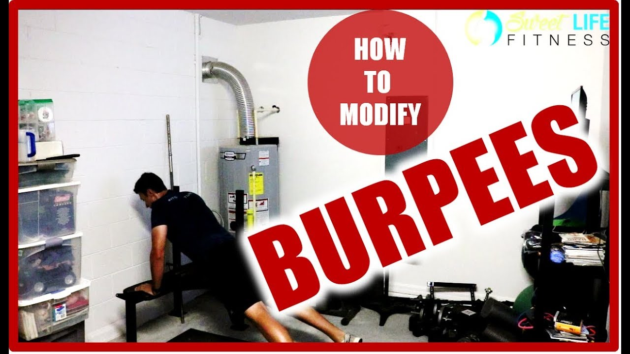 How to Modify Burpees - Beginner Tips to Become a Burpee MASTER!
