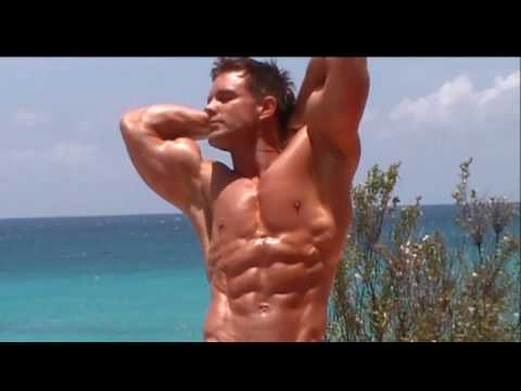Physique Fitness Cover Model David Kimmerle- Six Pack in Anguilla