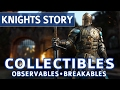 For Honor - All Collectible Locations (Observables & Breakables) - Knights Campaign