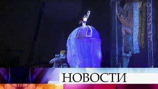 """В Санкт-Петербурге проходит мультимедийное шоу """"Чудо света"""", собирающее тысячи зрителей."""