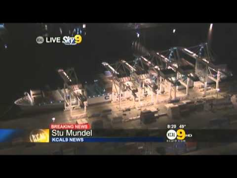 Longshoreman Crushed To Death By Fallen Container At Port Of Long Beach « CBS Lo