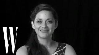 Lynn Hirschberg's Screen Tests: Marion Cotillard