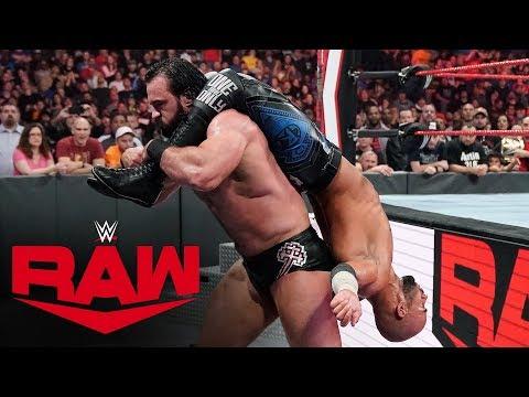 Ricochet vs. Drew McIntyre: Raw, Oct. 21, 2019