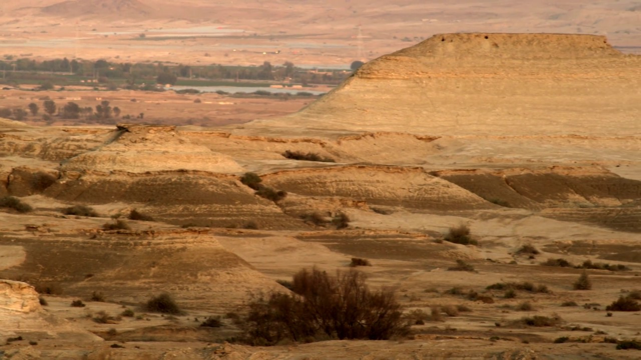 Royalty Free Stock Video Footage of a desert landscape at ...