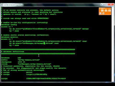 Linux5Minutes: OpenLDAP on RHEL6
