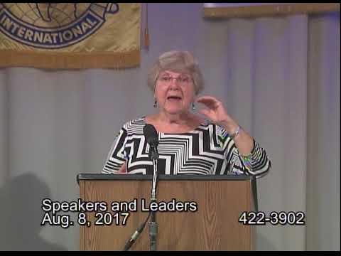 Speakers And Leaders 2017 August