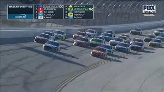 Monster Energy NASCAR Cup Series 2017. Talladega Superspeedway. Amazing Battle for Win