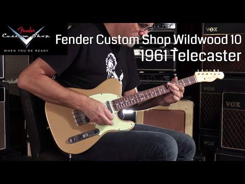 Fender Custom Shop Wildwood 10 1961 Telecaster  •  Wildwood Guitars