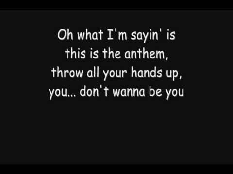 Good Charlotte - The Anthem [Lyrics] [HQ]