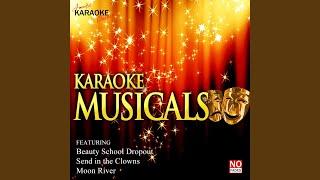 Beauty school dropout (in the style of grease) (karaoke version)