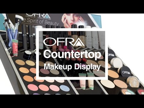 OFRA Countertop Makeup Display