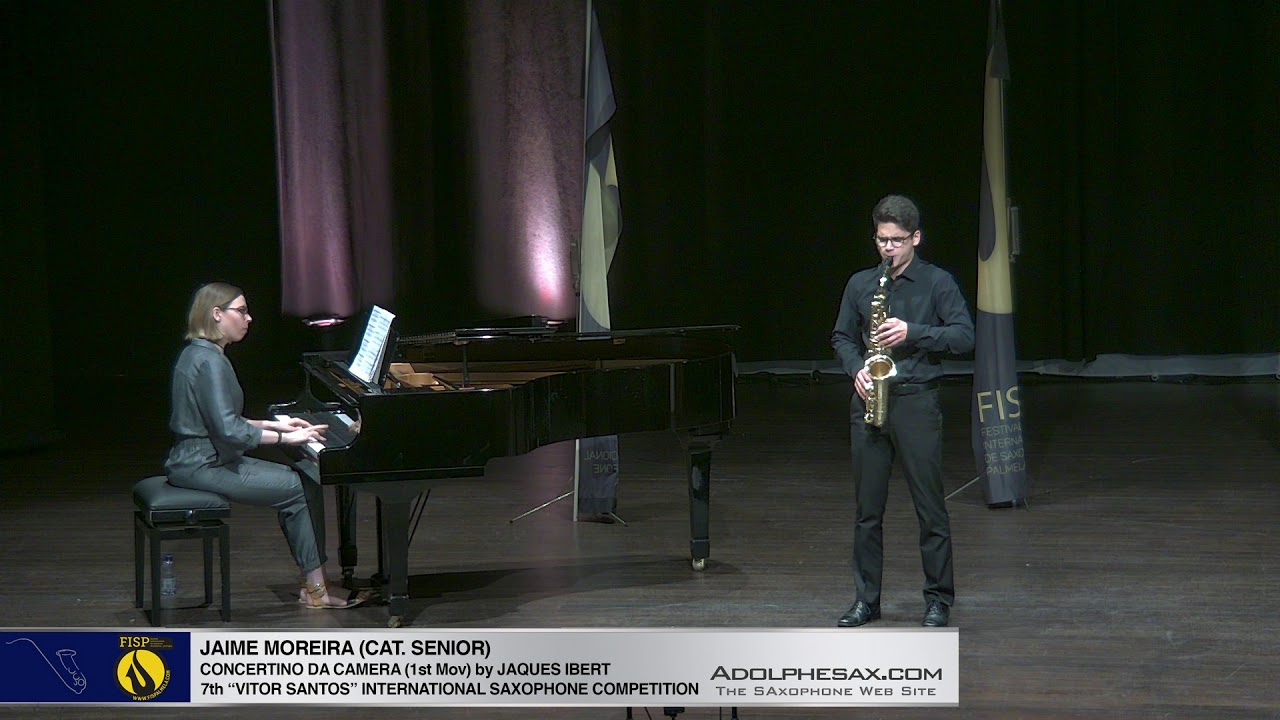 FIS Palmela 2019  Jaime Moreira   Concertino da Camera by Jaques Ibert 1st Mov