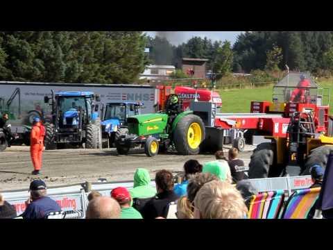 Tractorpulling 2012 på Bryne