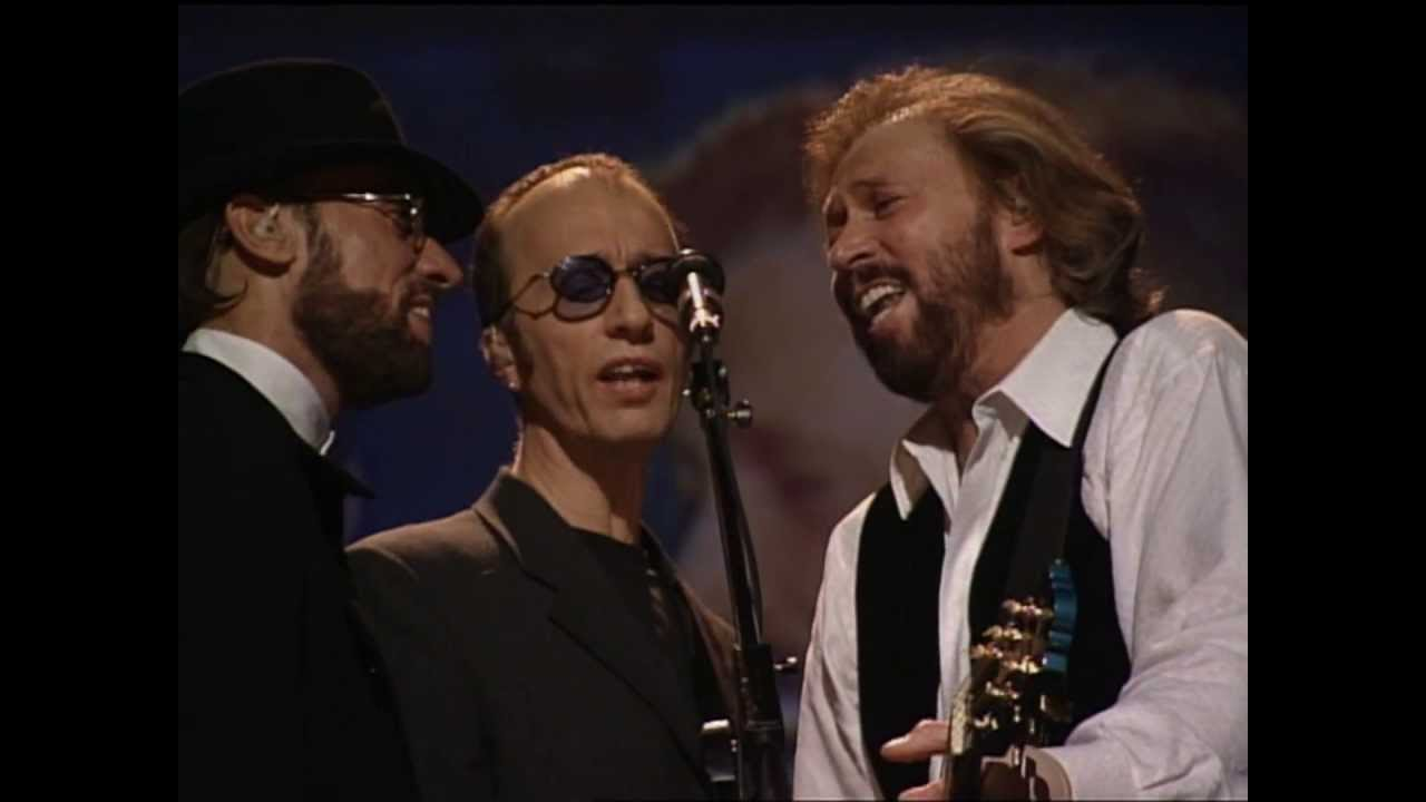 Bee Gees Guilty Live In Las Vegas 1997 One Night Only Youtube