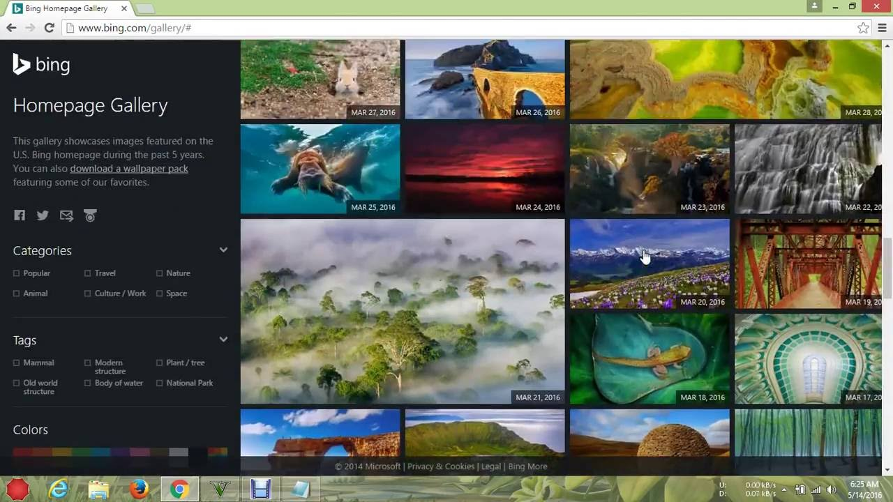 How To Download Wallpapers From Bing Gallery Without Bing