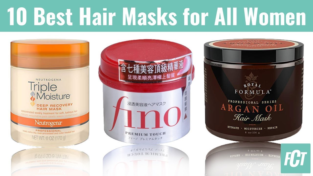 10 Best Hair Masks 2018 For Dry Damaged Color Treated Hair Get