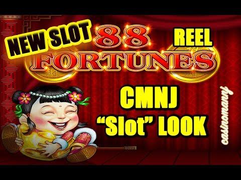 """**NEW** - 88 FORTUNES """"REEL"""" - CMNJ """"SLOT"""" LOOK - BONUS FEATURES! - Slot Machine Bonus"""